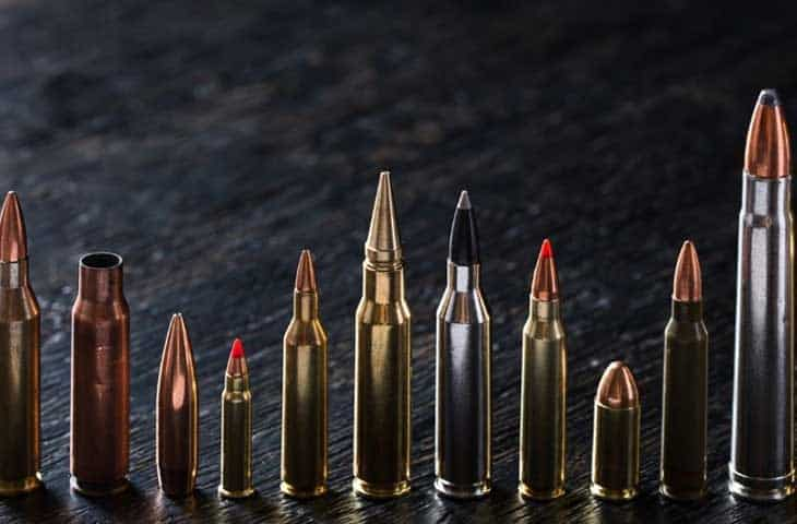 Bullets Sizes, Calibers, And Types